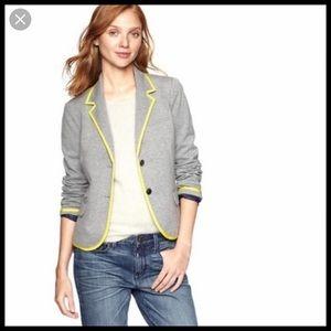 Gap Academy Grey and Yellow Blazer